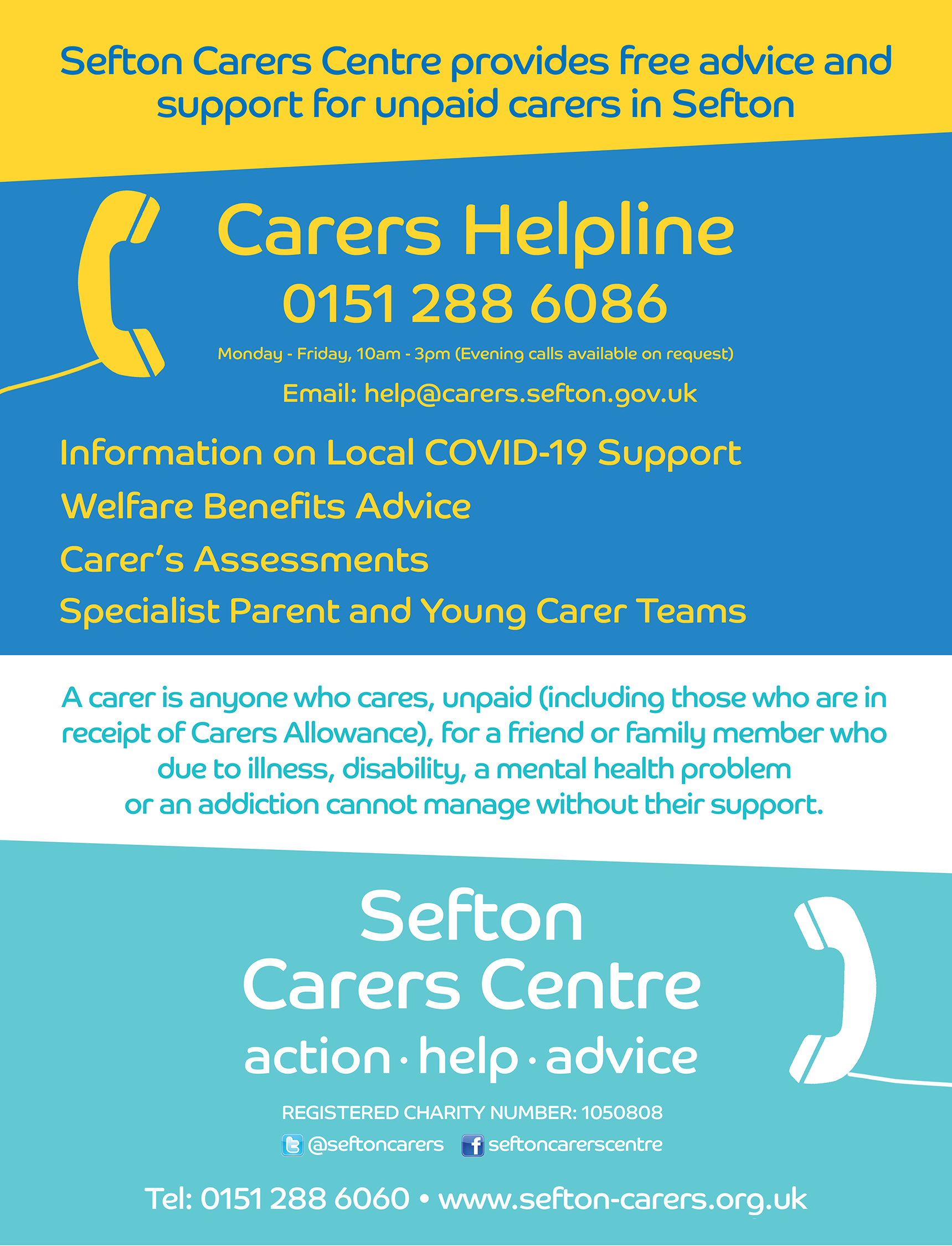 Sefton Carers Helpline SM VERSION